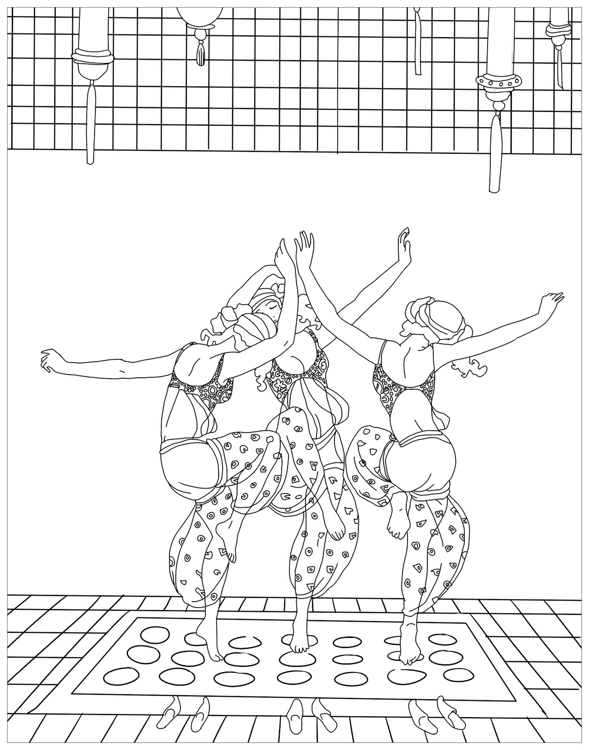 Malbuch Fur Erwachsene  : Orientalisch - 1