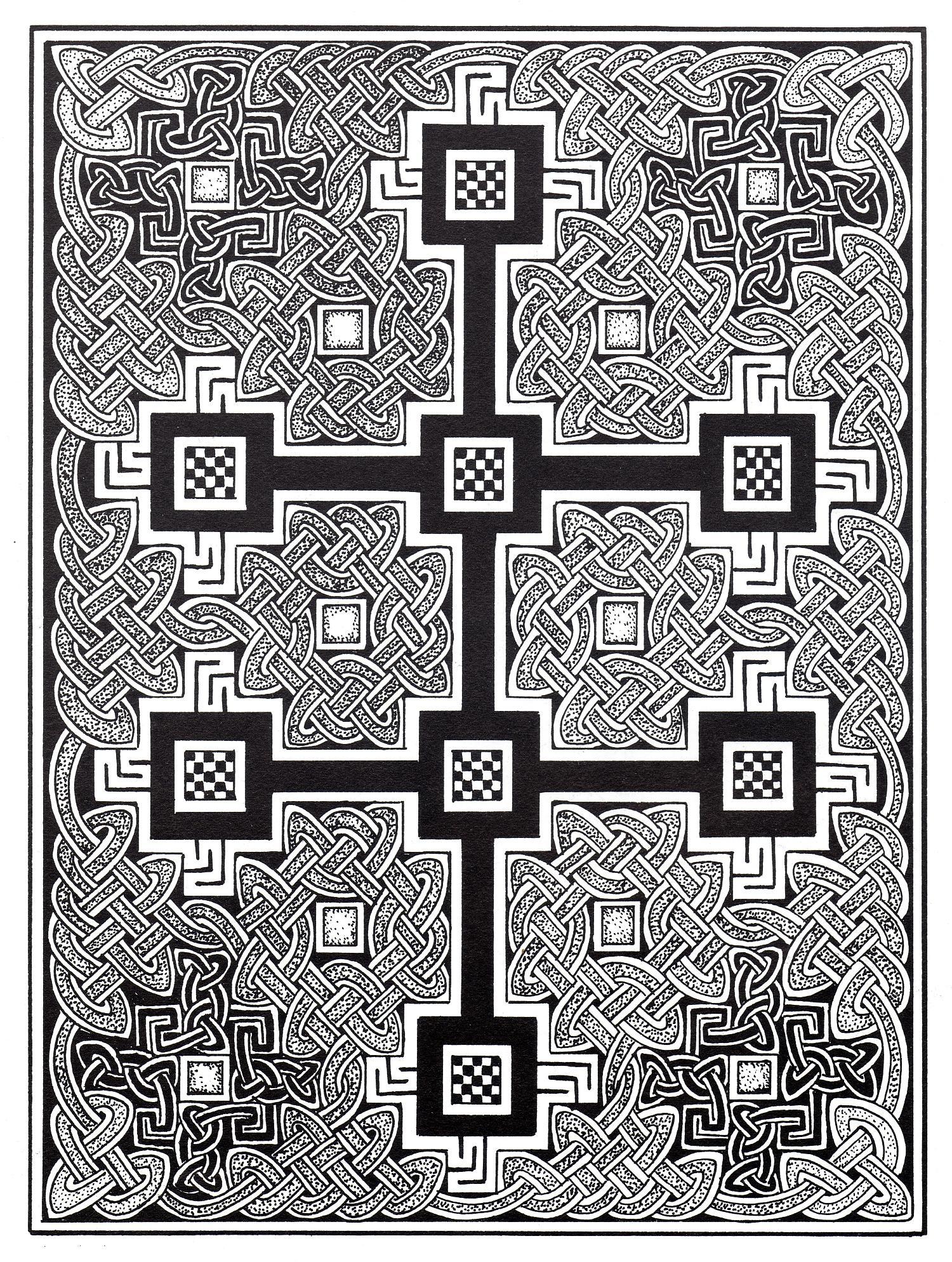 Malbuch Fur Erwachsene : Keltische Kunst - 24