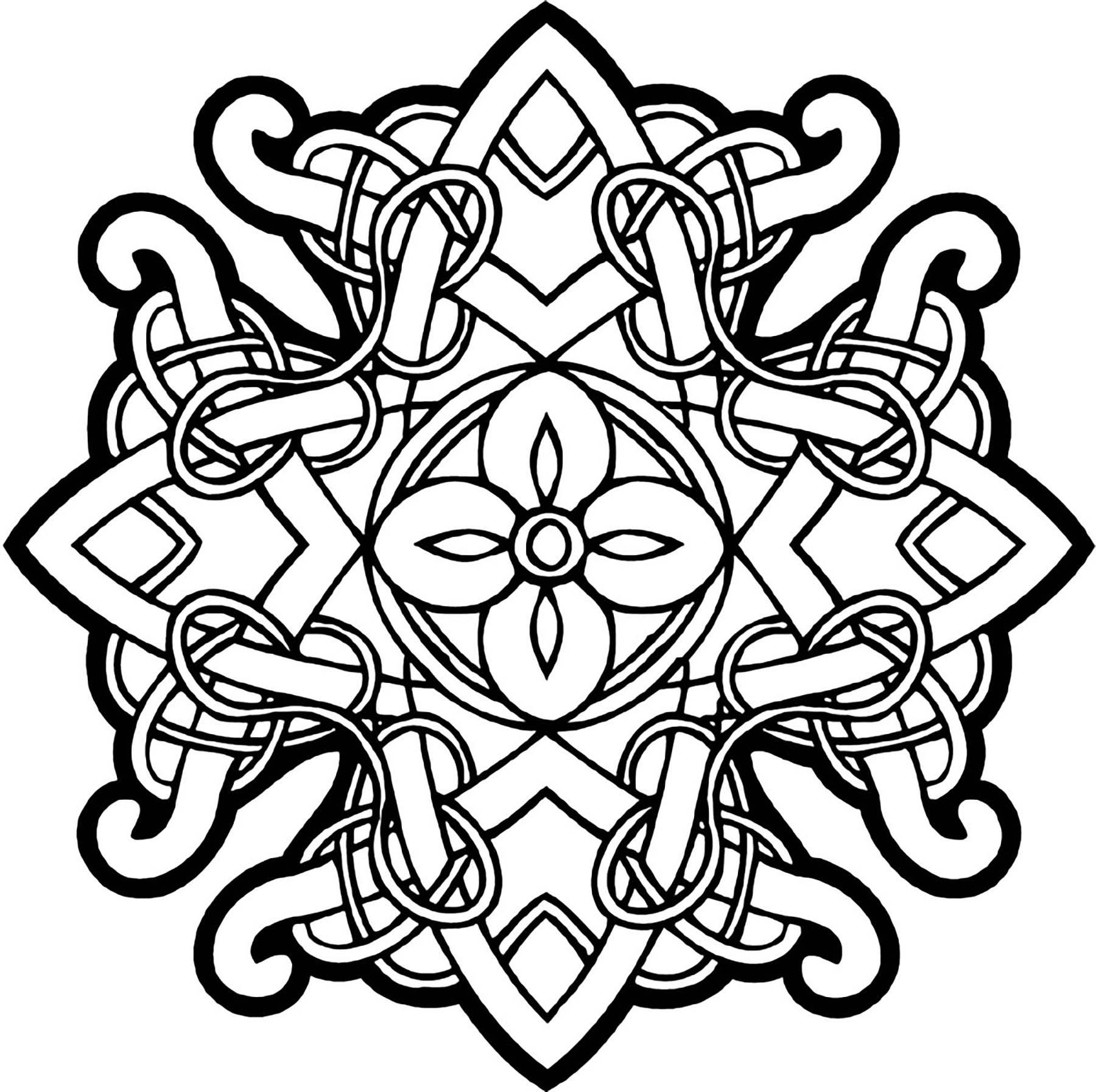 Malbuch Fur Erwachsene : Keltische Kunst - 64
