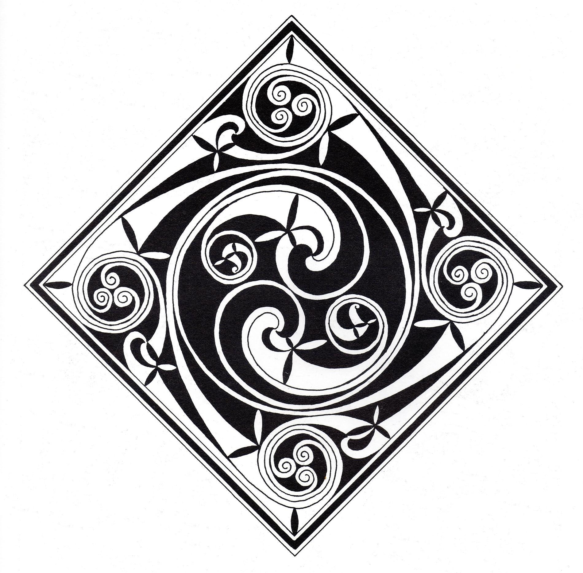 Malbuch Fur Erwachsene : Keltische Kunst - 32