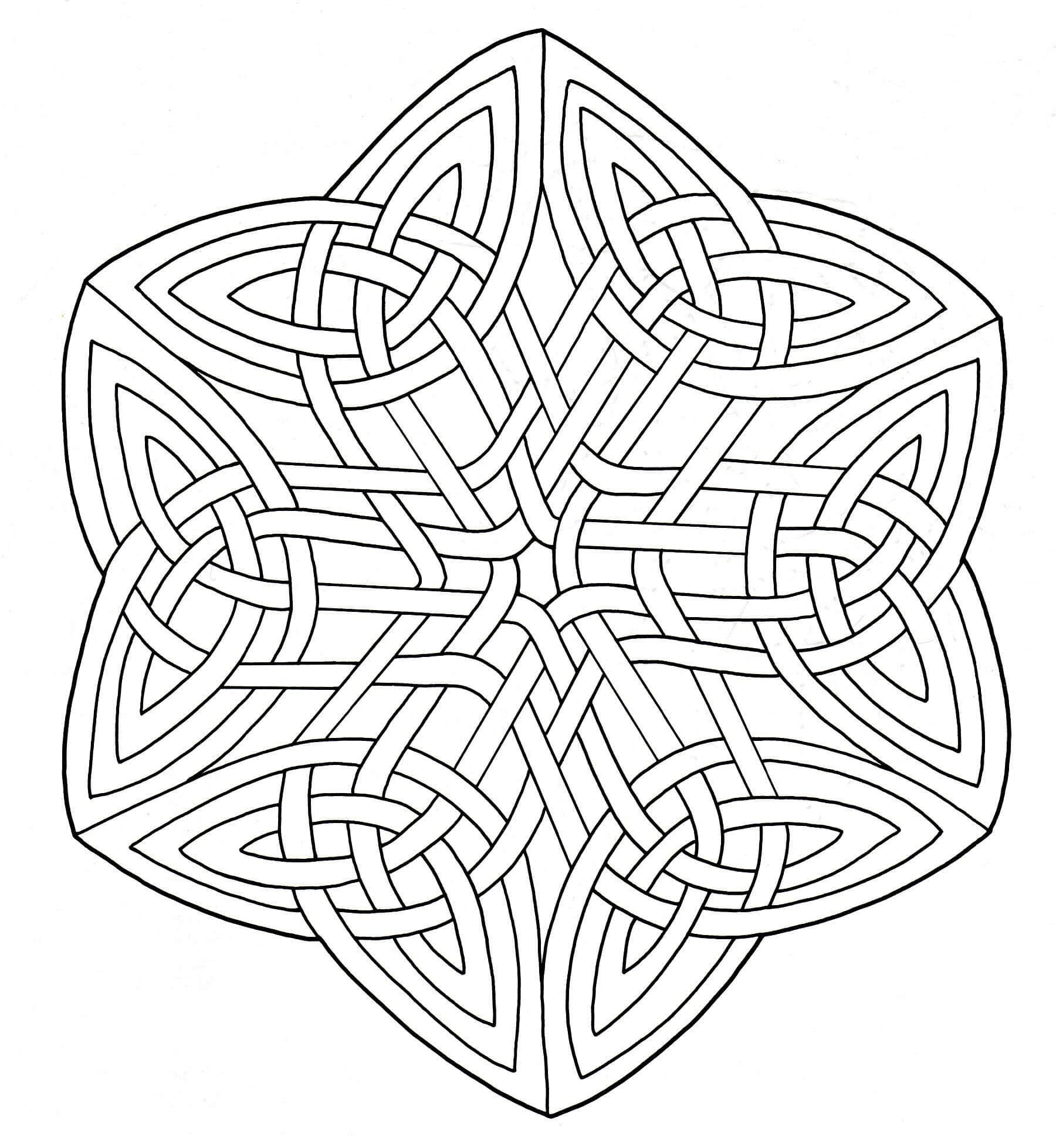 Malbuch Fur Erwachsene : Keltische Kunst - 51