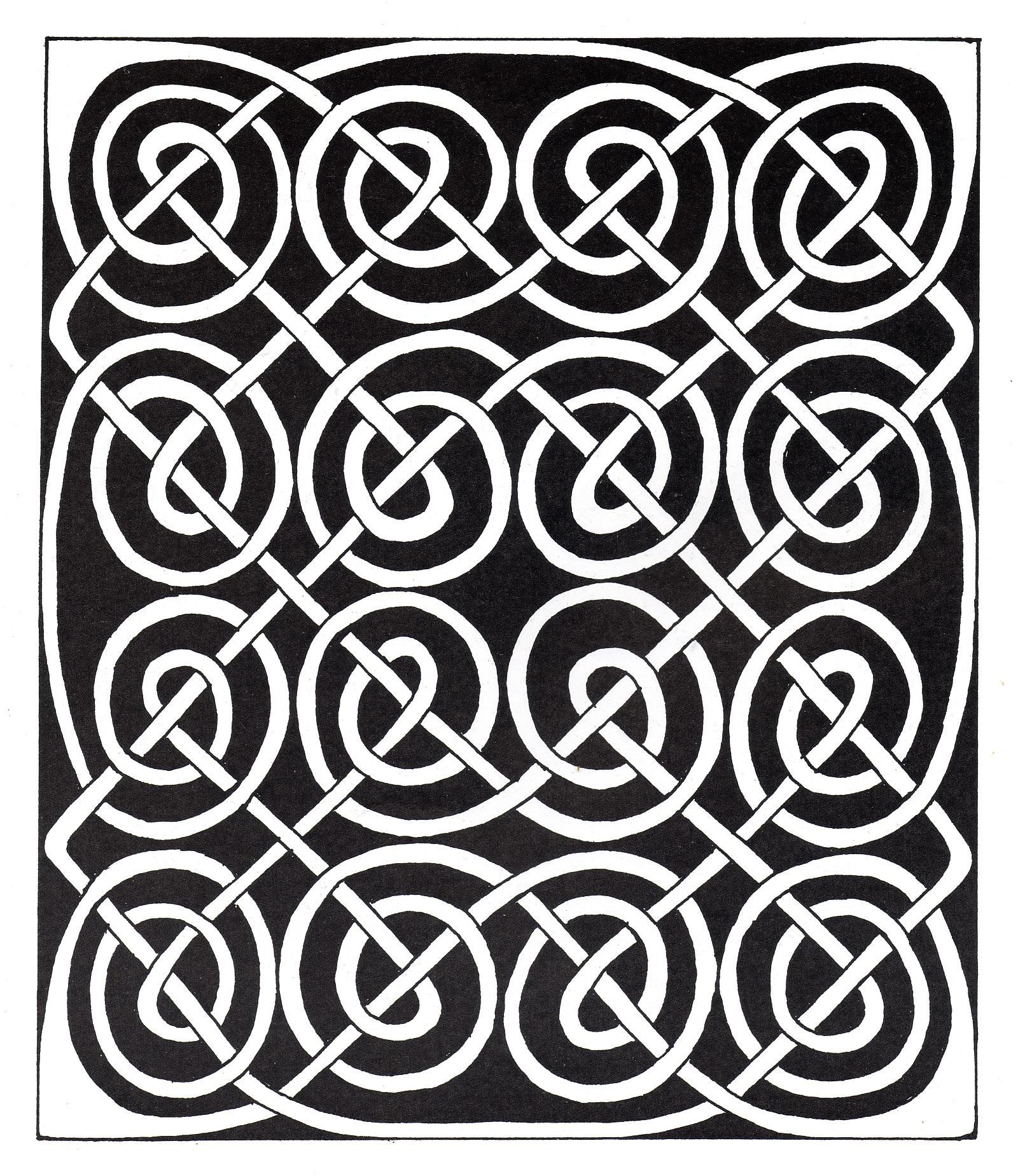 Malbuch Fur Erwachsene : Keltische Kunst - 25
