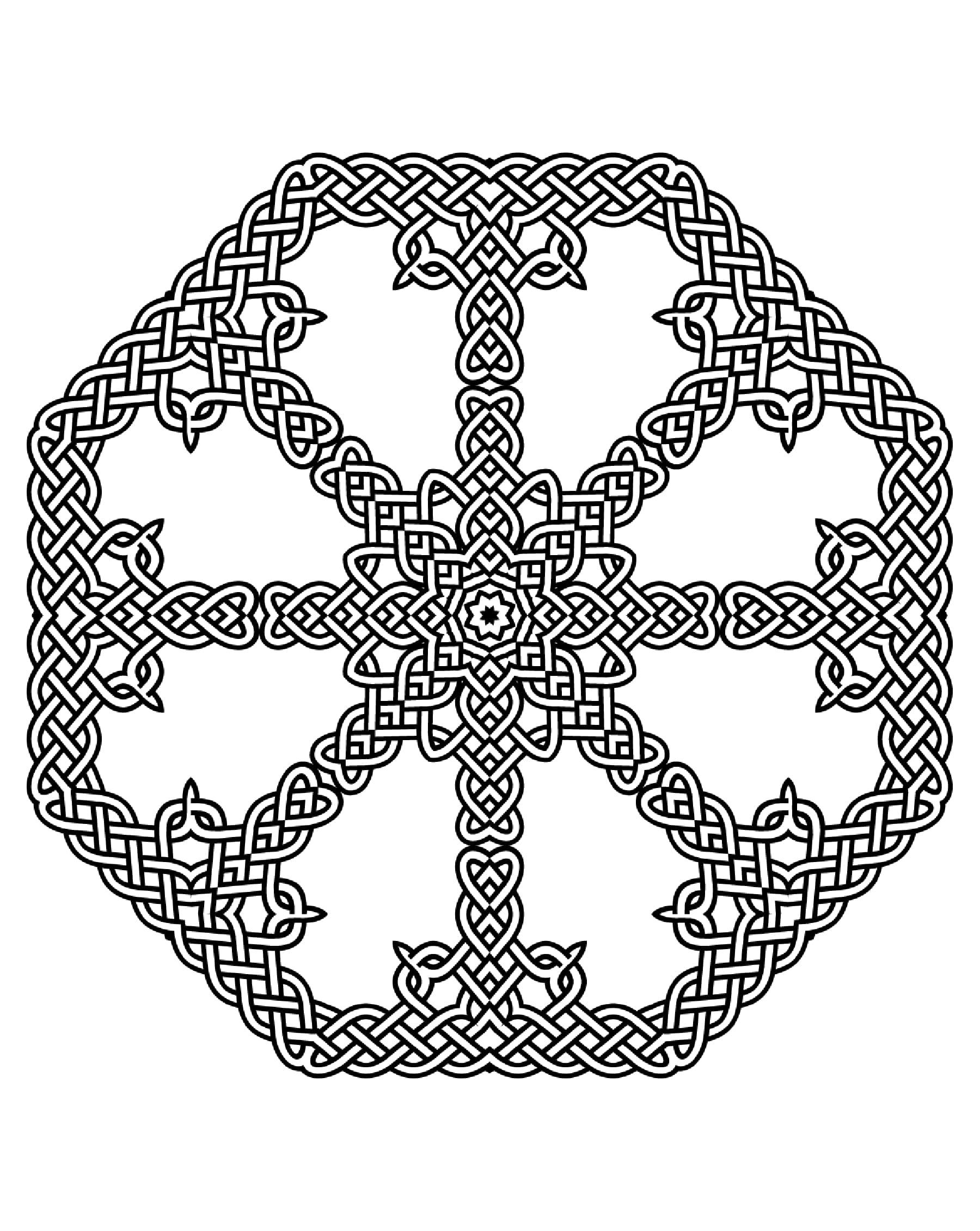 Malbuch Fur Erwachsene : Keltische Kunst - 50