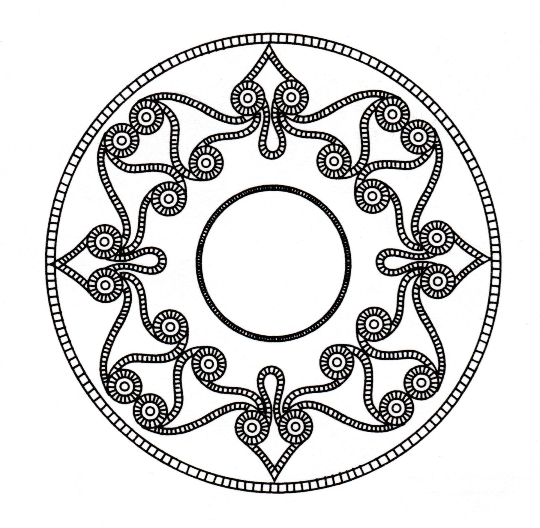 Malbuch Fur Erwachsene : Keltische Kunst - 9