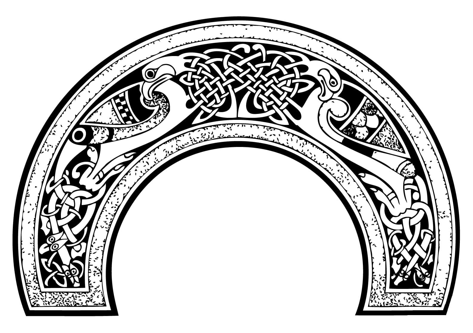 Malbuch Fur Erwachsene : Keltische Kunst - 8
