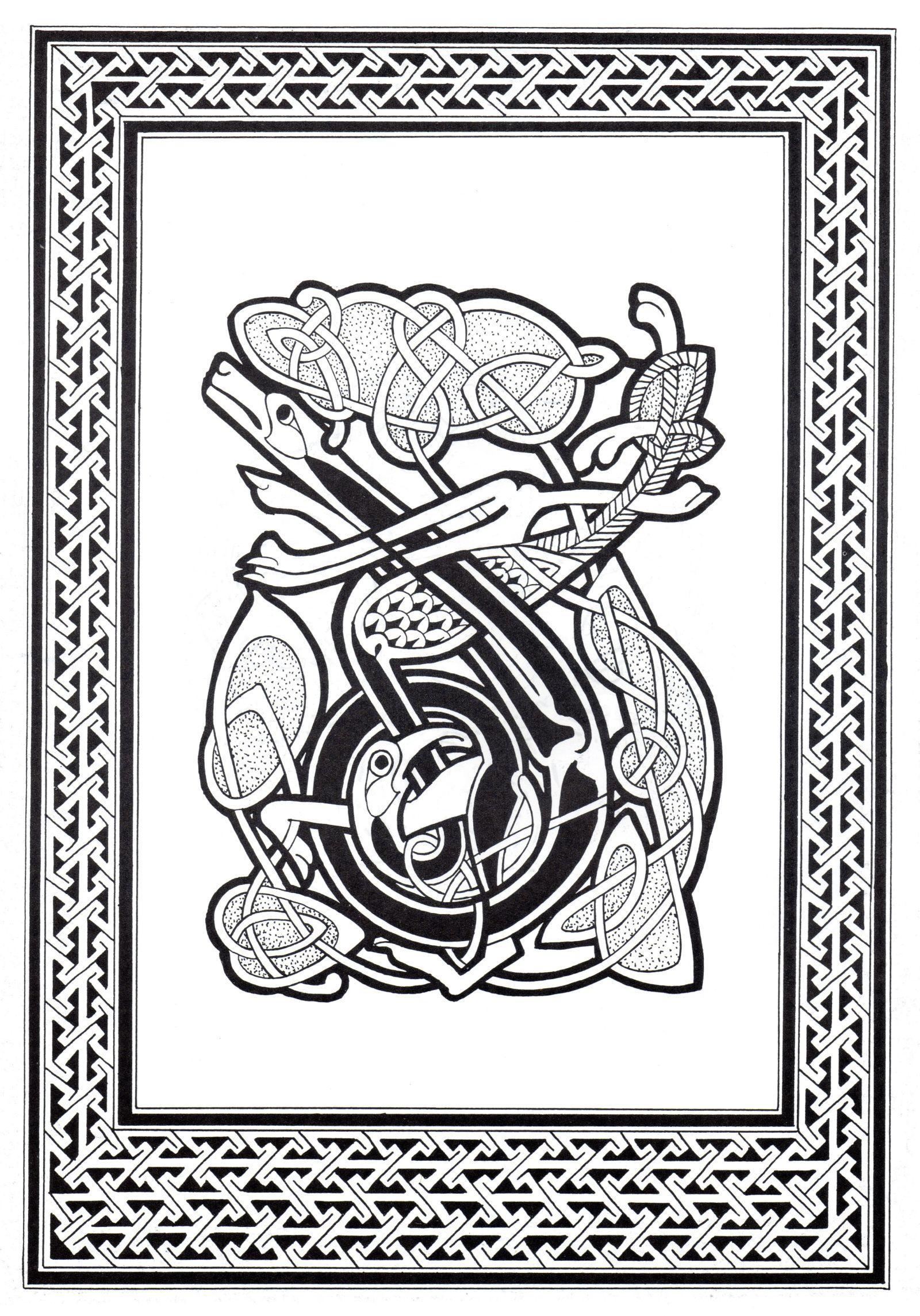 Malbuch Fur Erwachsene : Keltische Kunst - 41