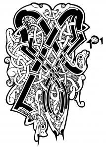 Keltische kunst 89715
