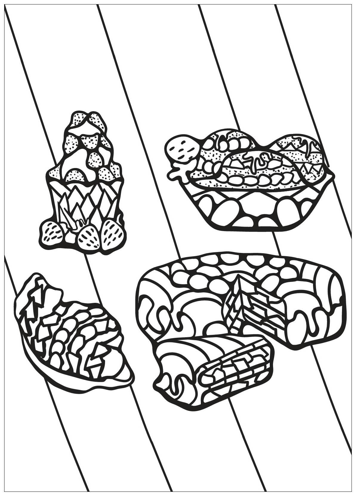 Malbuch Fur Erwachsene : Cupcakes - 38