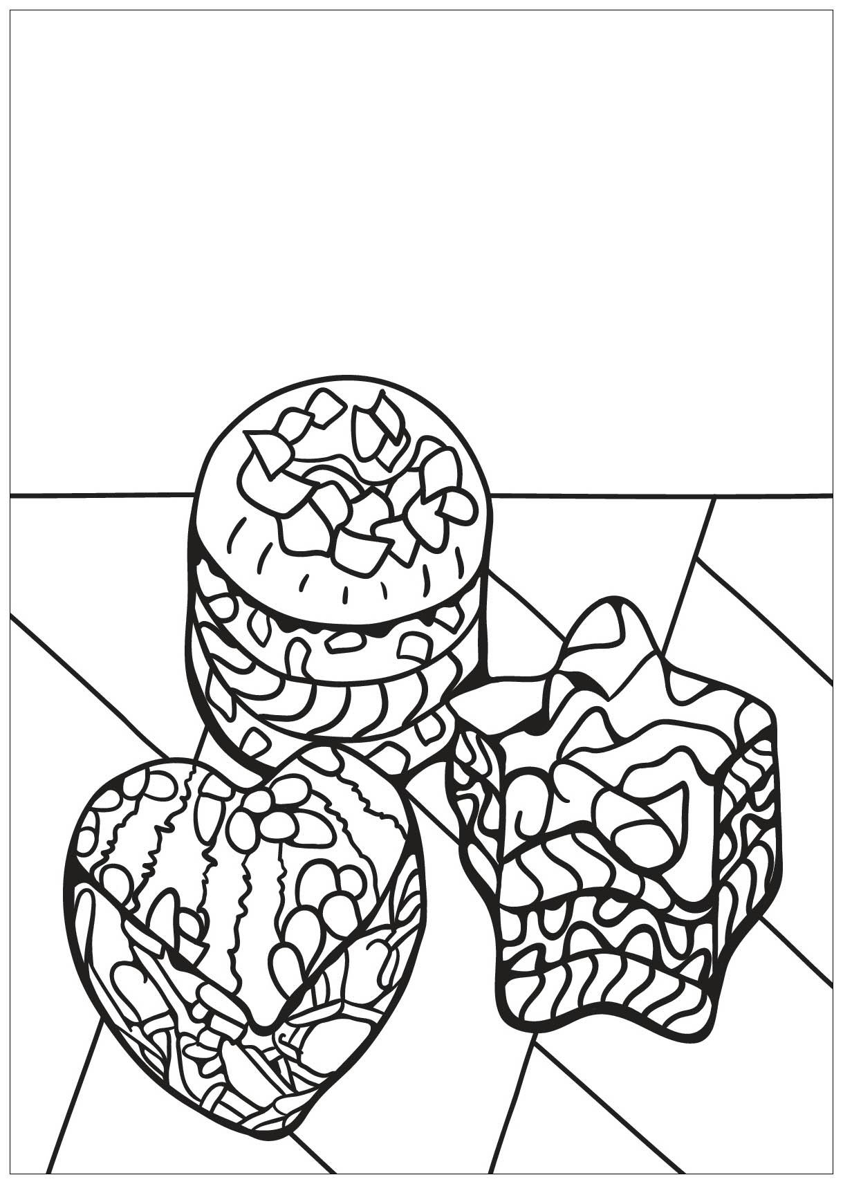 Malbuch Fur Erwachsene : Cupcakes - 37