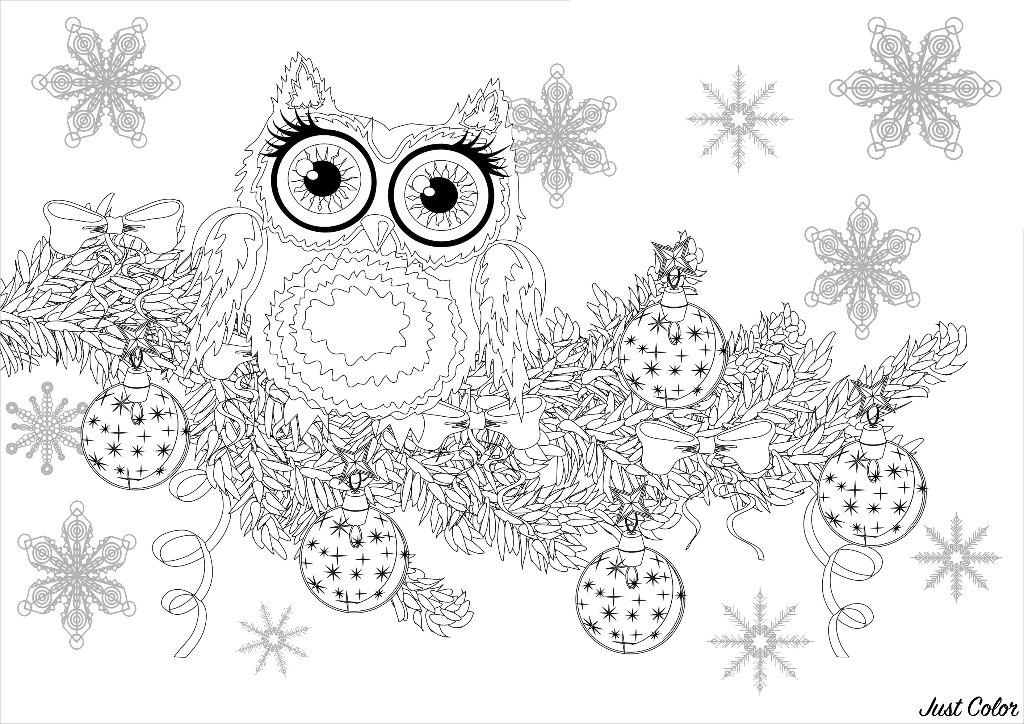 Malbuch Fur Erwachsene : Weihnachten - 7