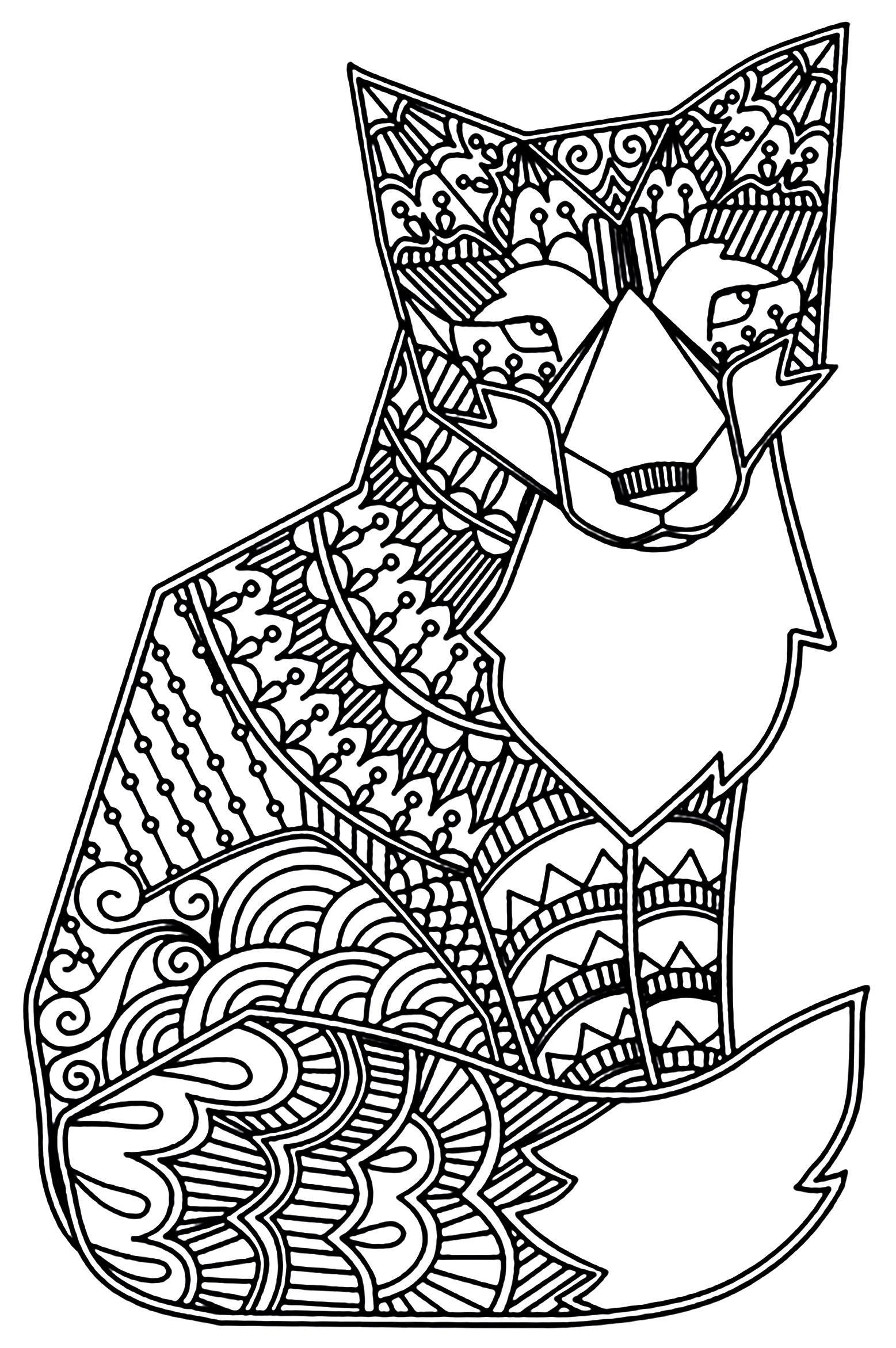 Fuchse 37098 - Füchse - Malbuch Fur Erwachsene