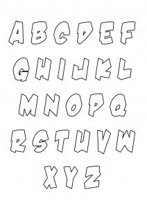 Alphabet 33877