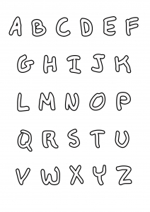Alphabet 72981