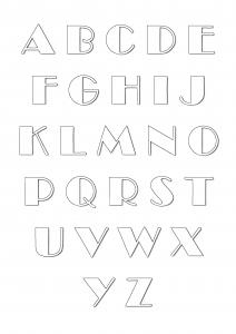 Alphabet 88811