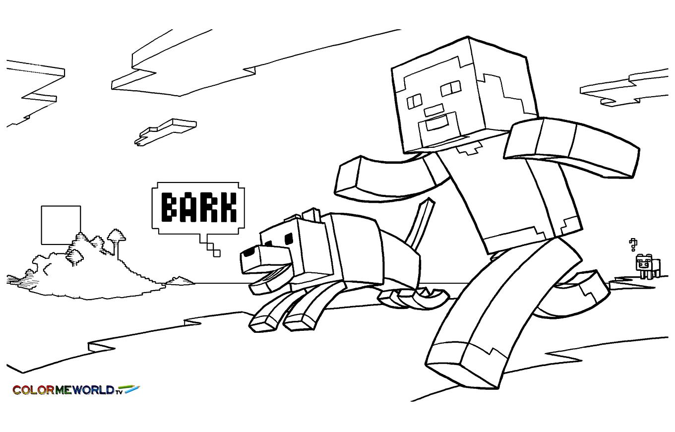 Ausmalbilder Minecraft Pferde : Wunderbar Minecraft Malbuch Fotos Framing Malvorlagen