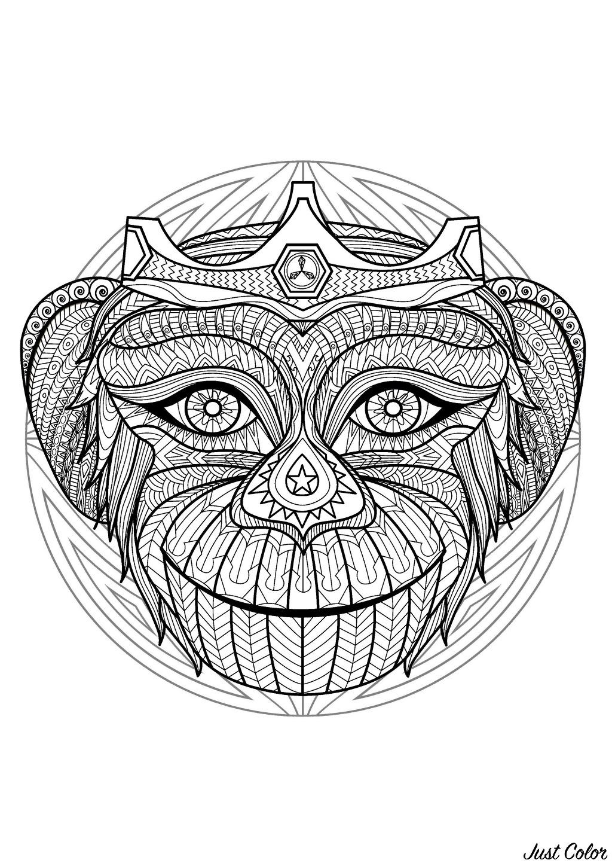 Malbuch Fur Erwachsene  : Mandalas - 9