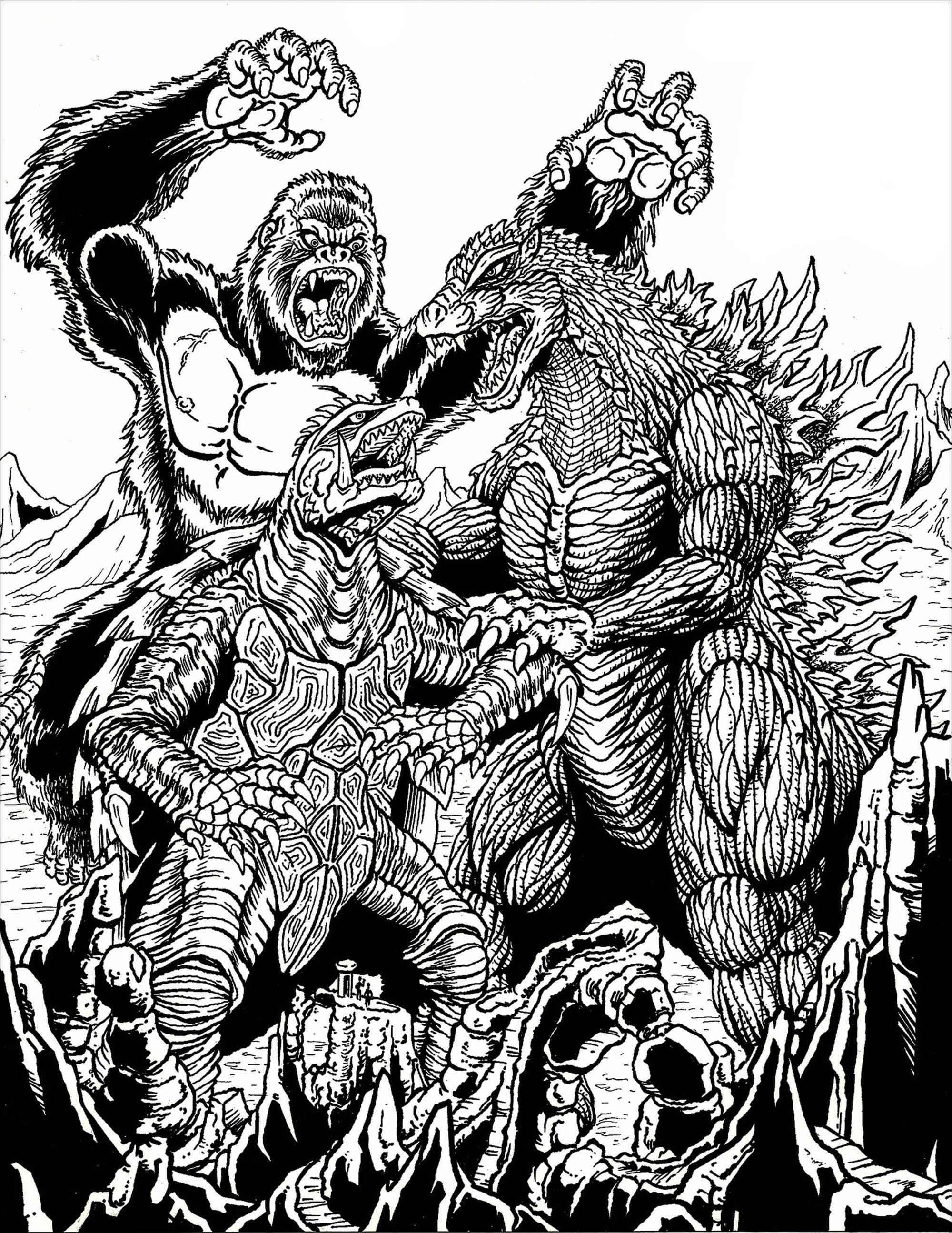 Malbuch Fur Erwachsene : Mythen & Legenden - 3