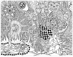 Psychedelisch 82333