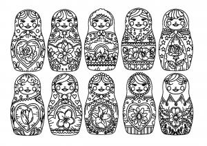 Russische puppen 31128
