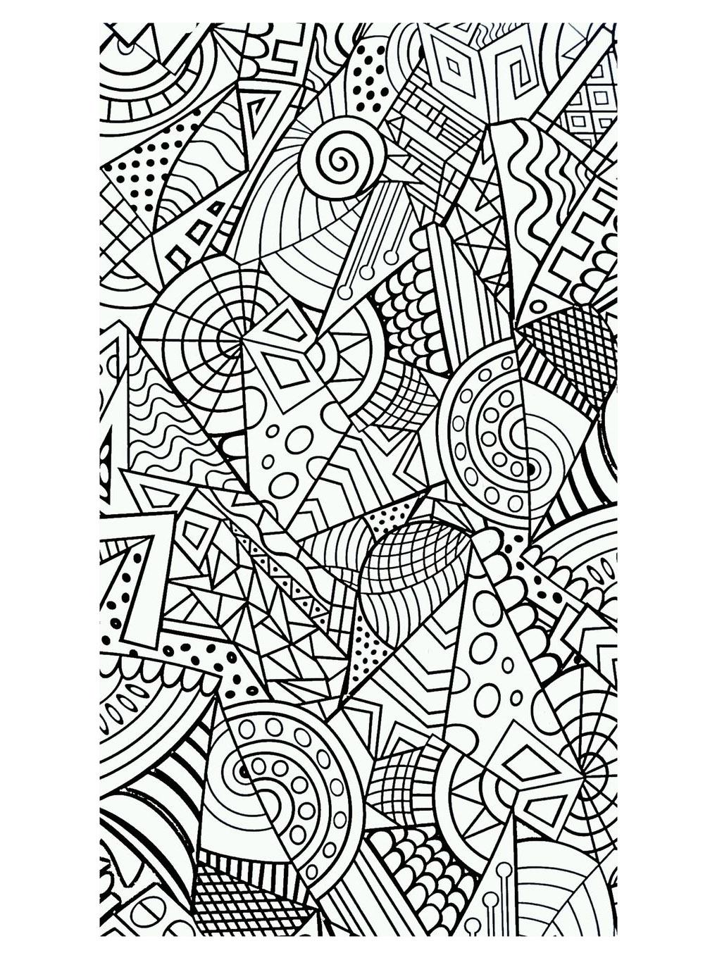 Colorear para adultos : Anti-stress / Zen - 27