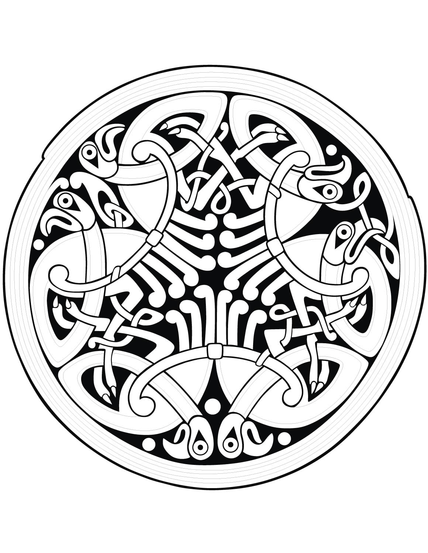Colorear para Adultos : El Arte Celta - 56