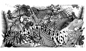 Camaleones y lagartos 52344