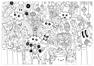 Doodle art doodling 21672