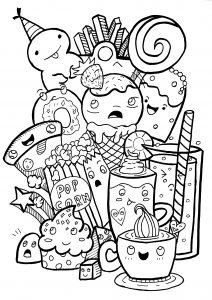 Doodle art doodling 34036
