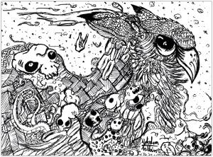 Doodle art doodling 45300