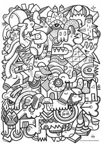 Doodle art doodling 76958