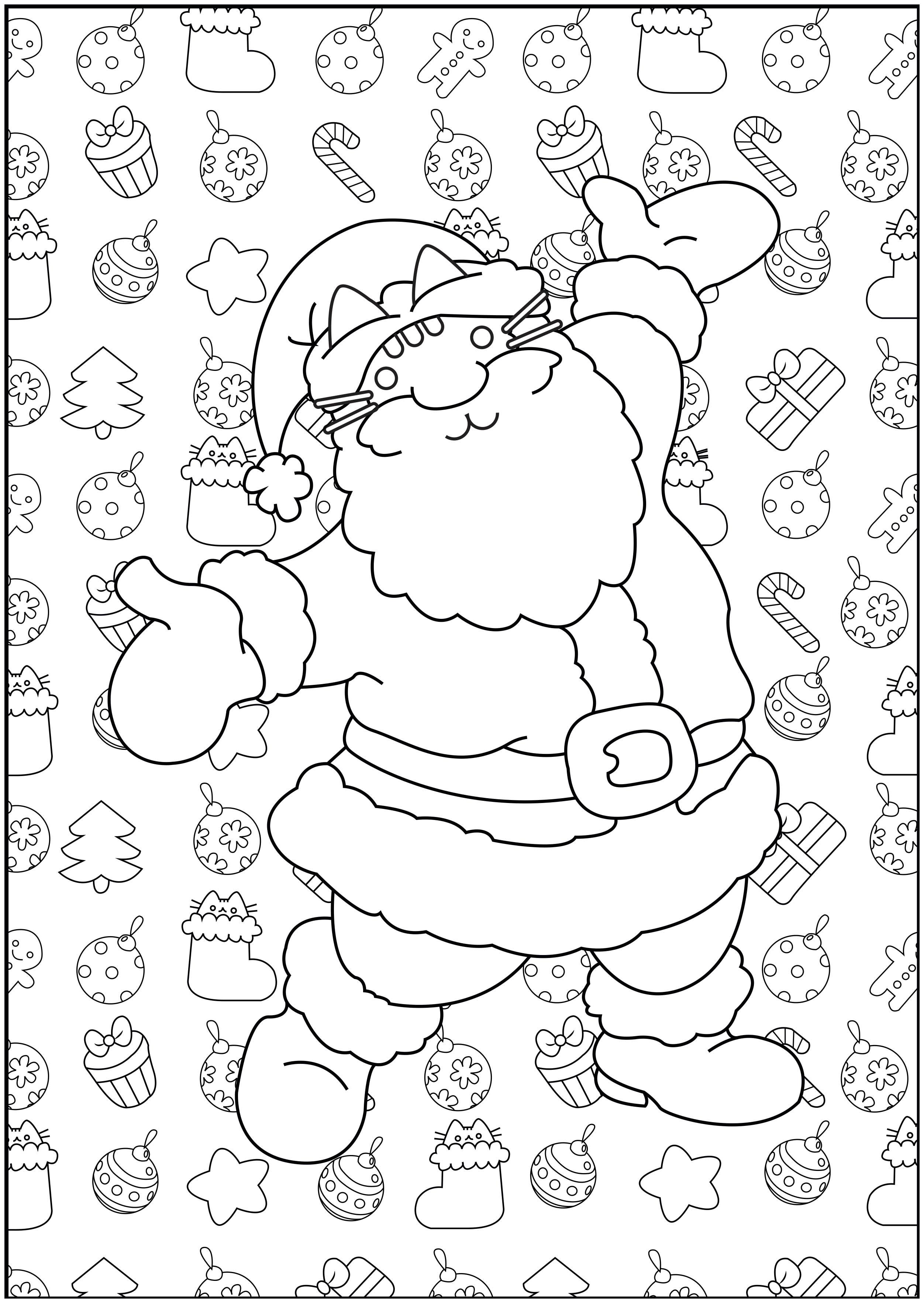 Navidad 60013 Navidad Colorear Para Adultos