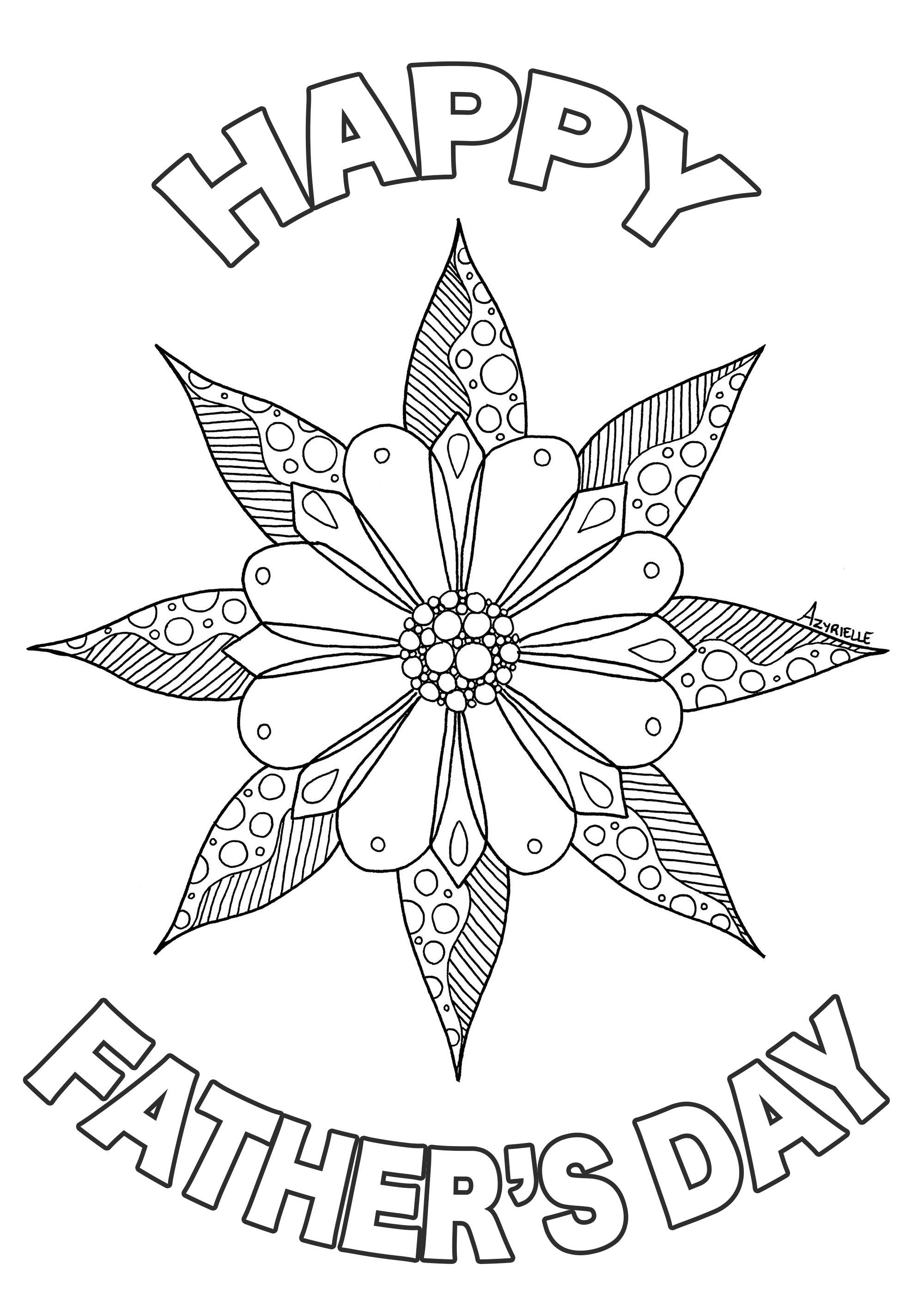 Dia del padre 67915 - Dia Del Padre - Colorear para Adultos
