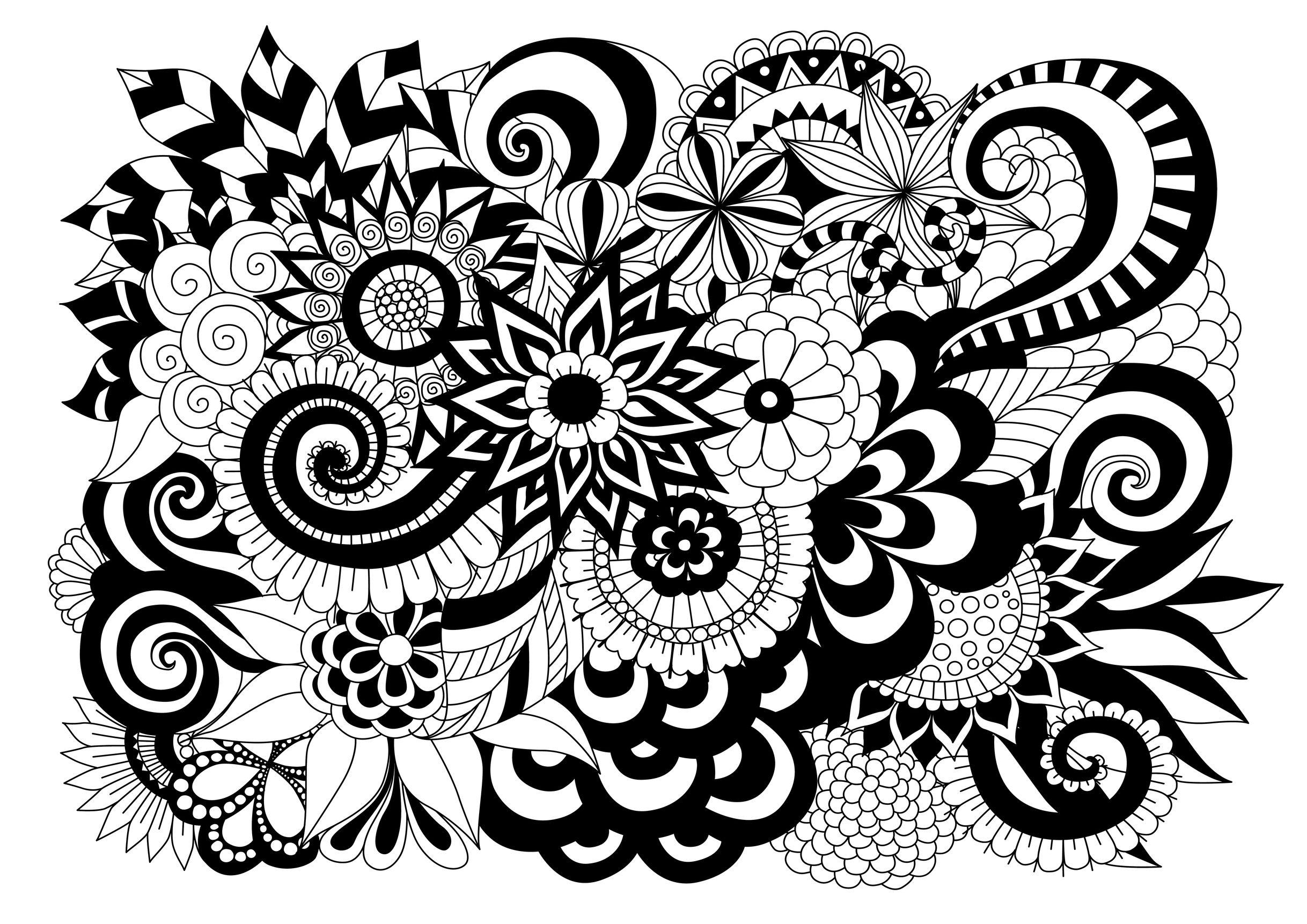 Lisag 07092016  Sus creaciones  Colorear para adultos  JustColor