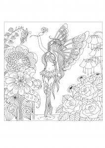 Flores y vegetacion 85554