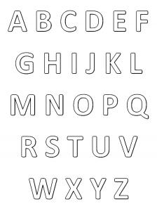 Alfabeto 61663