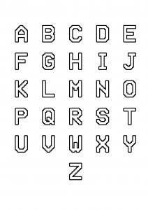 Alfabeto 7261