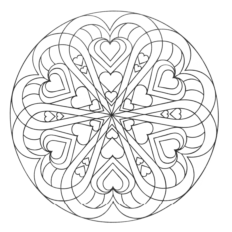 Mandalas 14211 Mandalas Colorear Para Adultos