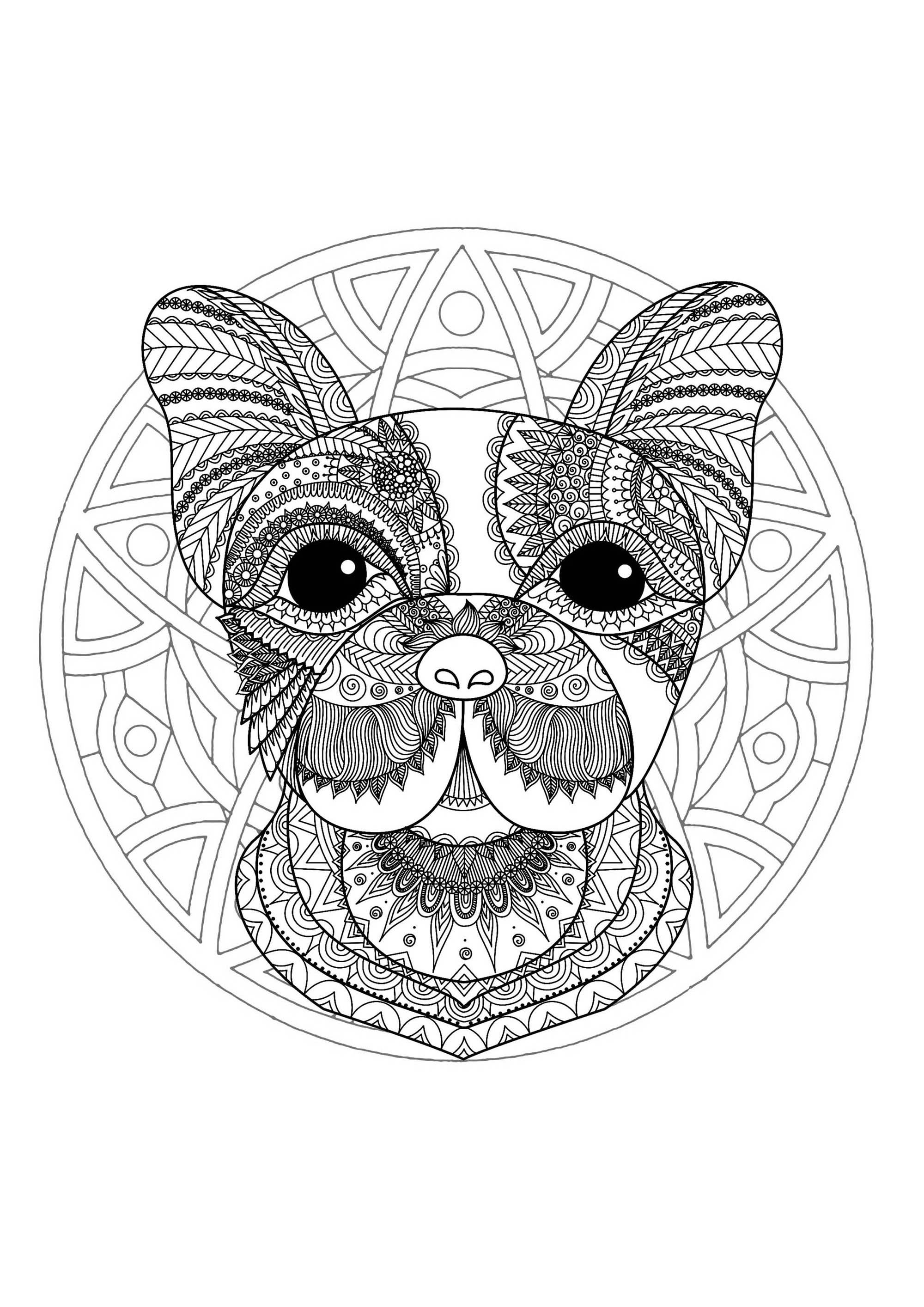 Mandalas 34174 - Mandalas - Colorear para adultos