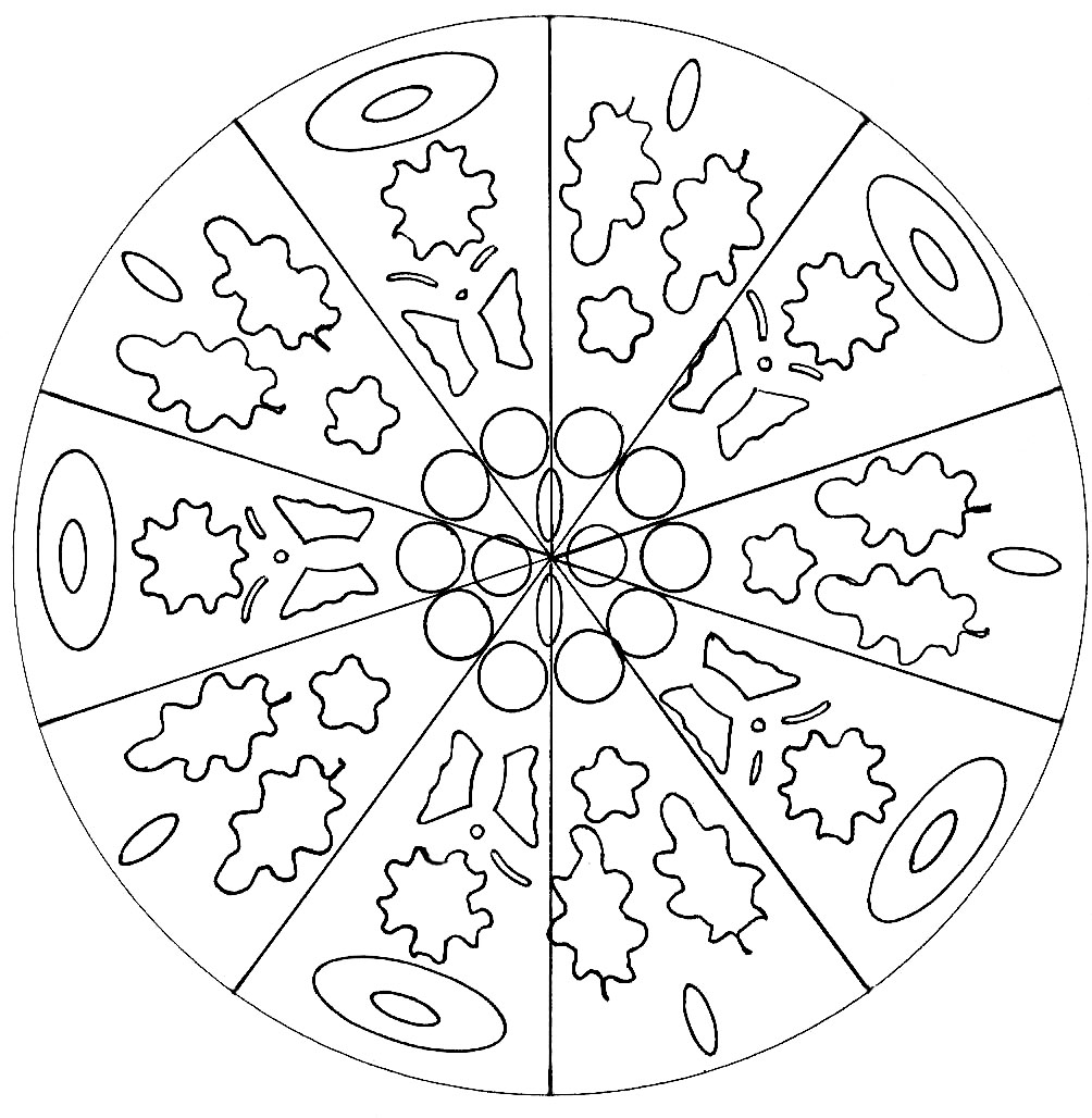 Colorear para adultos : Mandalas - 169