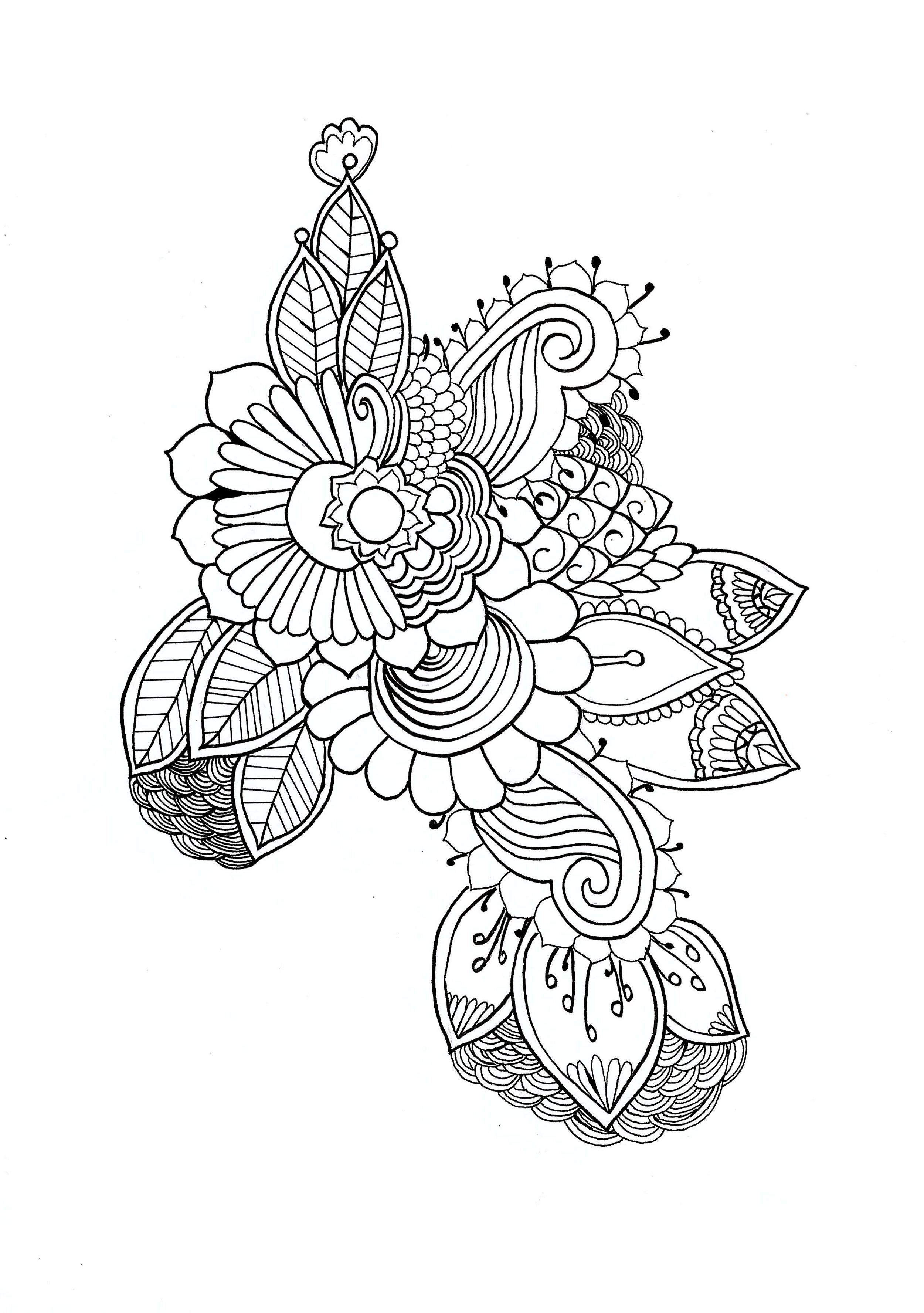 Mandalas 87136 - Mandalas - Colorear para Adultos
