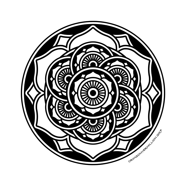 Colorear para Adultos : Mandalas - 10
