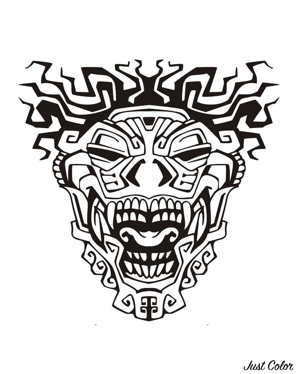Mayas Aztecas E Incas 64688 Mayas Aztecas E Incas Colorear Para