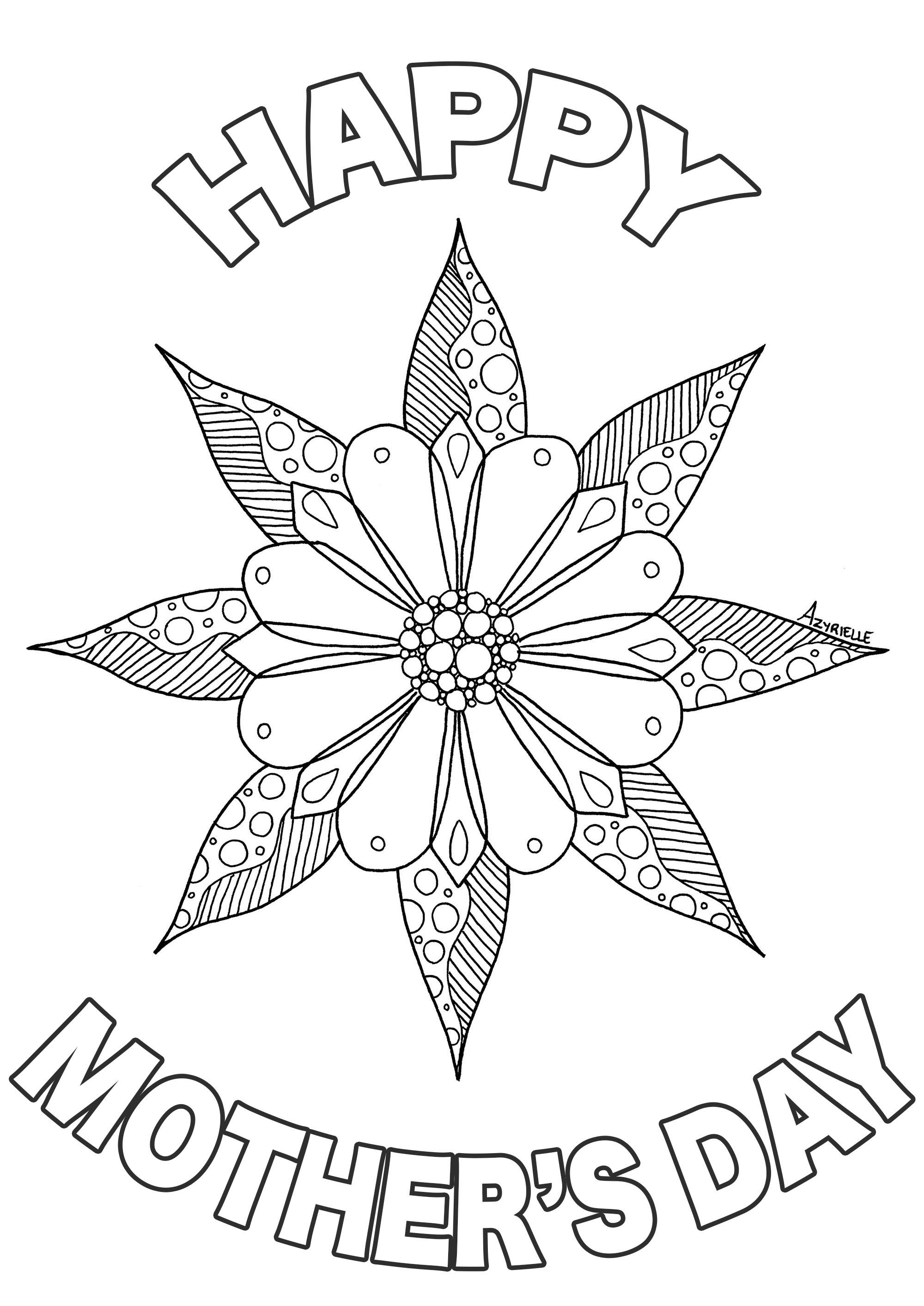 Dia De La Madre 90532 Día De La Madre Colorear Para Adultos