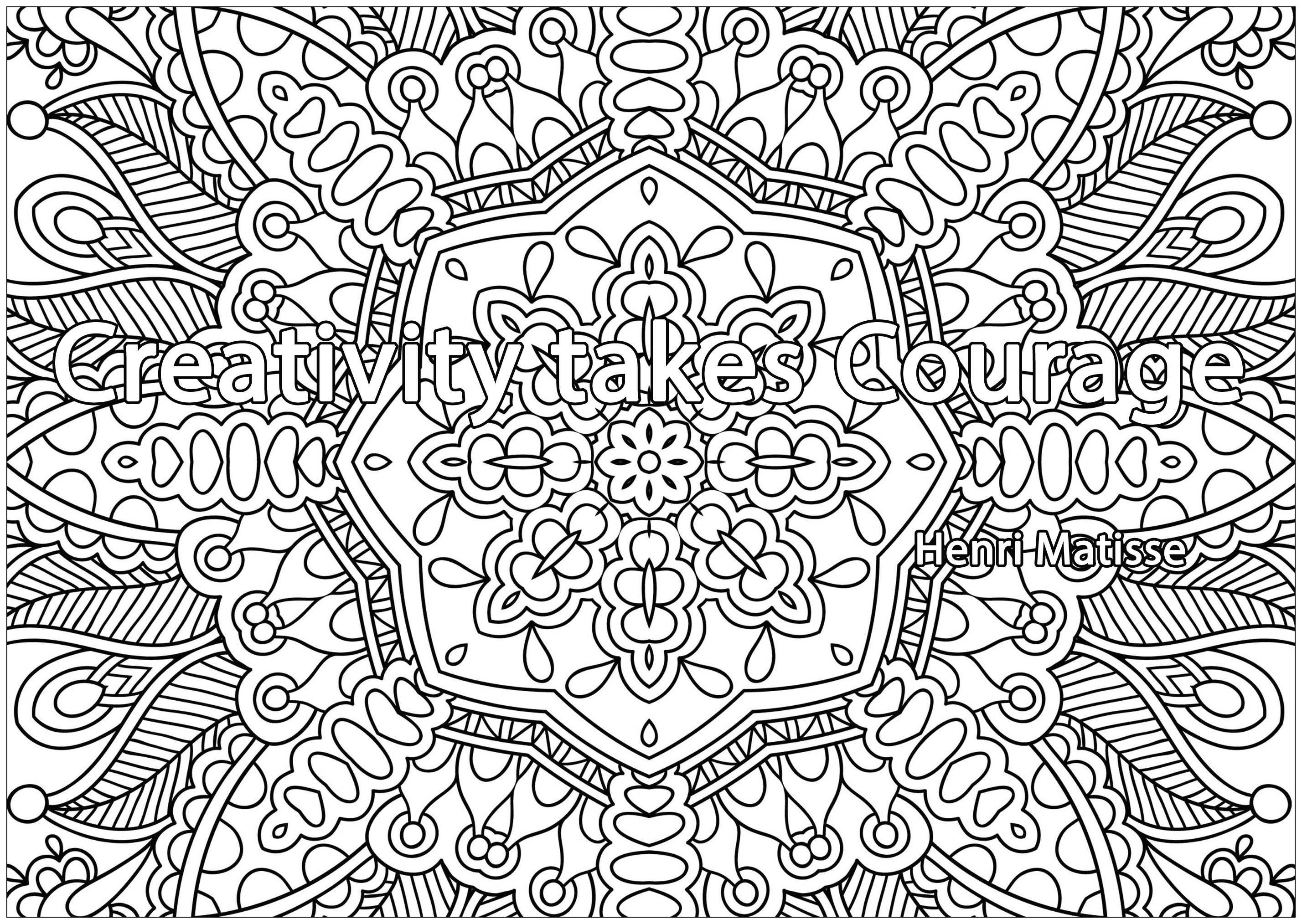 Colorear para Adultos : Citas - 3