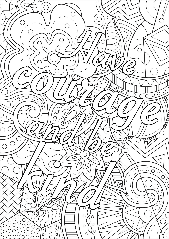 Colorear para Adultos : Citas - 1