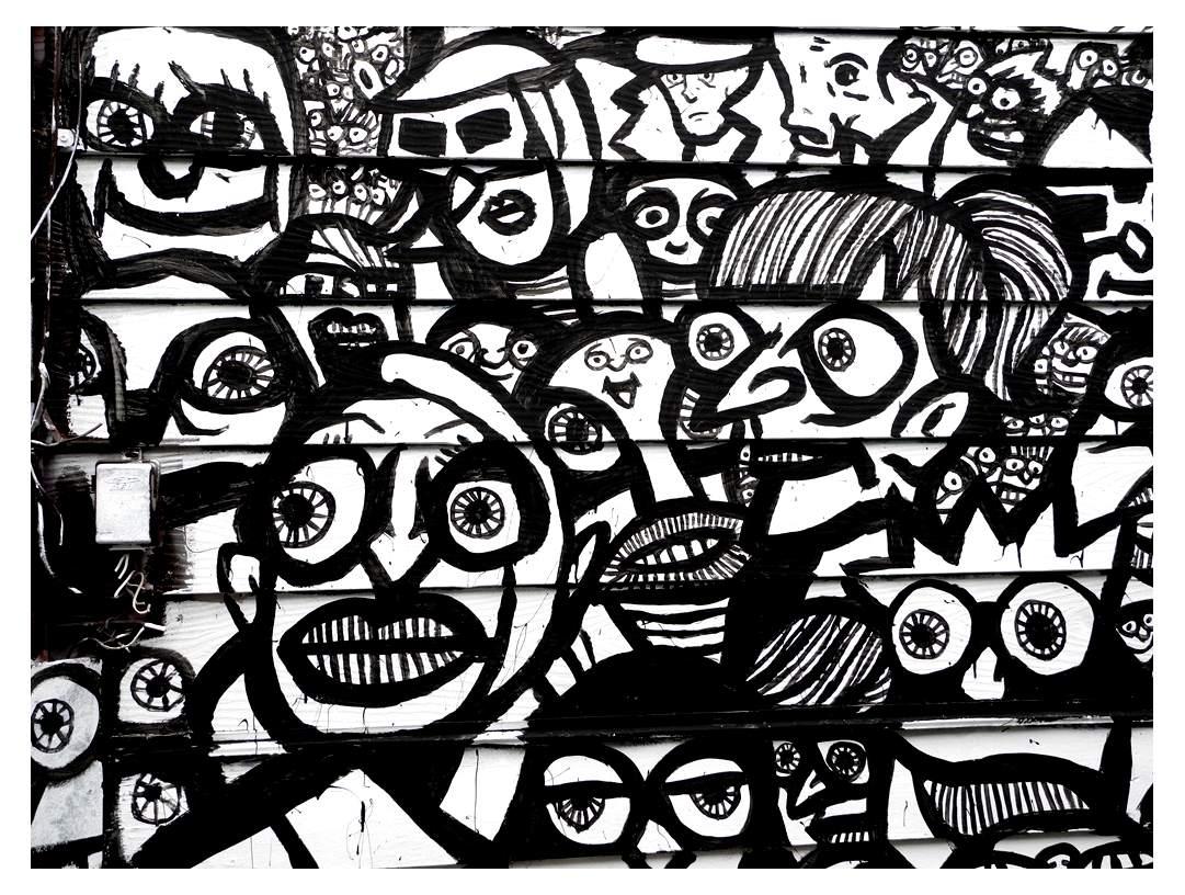 Colorear para adultos : Leyendas y graffitis - 9