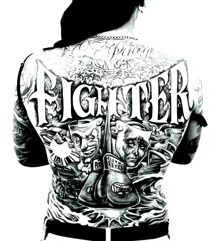 Colorear para adultos : Tatuajes - 4