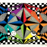 Coloriages Op Art (Illusions d'optique)
