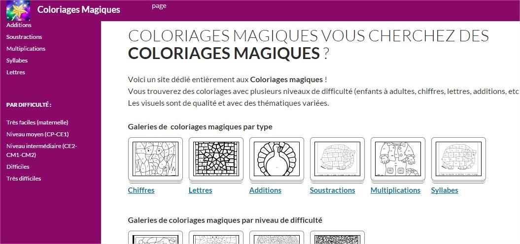Un Site De Coloriages Magiques Coloriages Difficiles Pour Adultes
