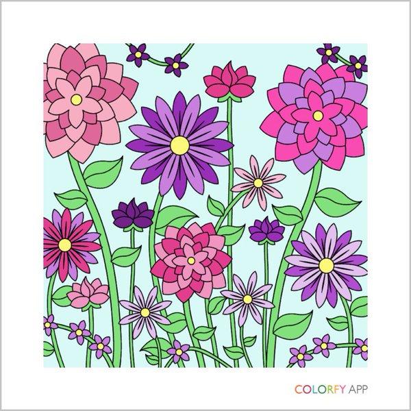 Un Coloriage Colorfy Termine Pret A Etre Partage